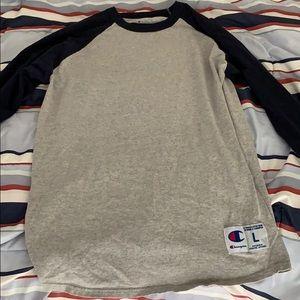 Champion raglan sleeve t shirt
